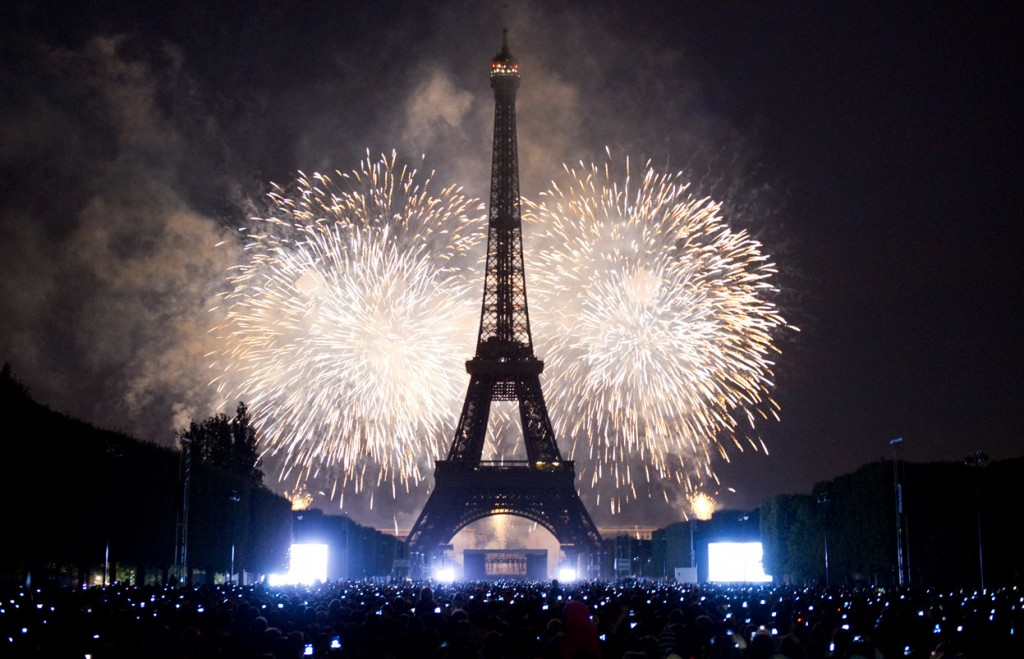 Paris New Years Eve