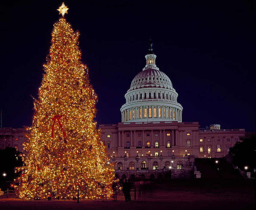 the capitol washington dc - Best Places To Visit During Christmas