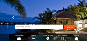 Hotel Search Engine Website