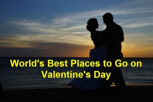 places to go for valentine day