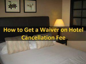 cancel hotel reservation