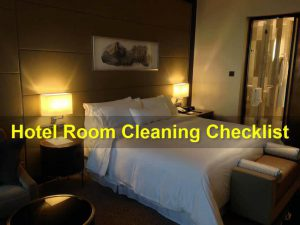 guest room cleaning